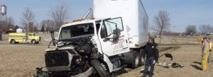 Car Accident Hit By Truck Mankato MN