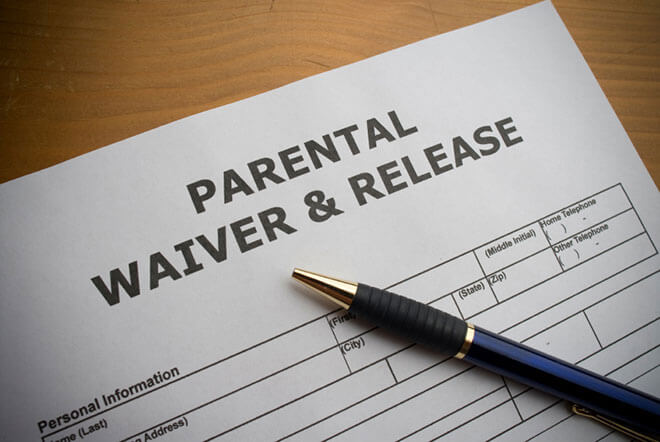 Activity Waiver Child Injured Lawyer Mn Waiver Attorneys