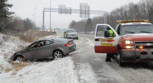 Driving Too Fast on Icy Road Crash MN