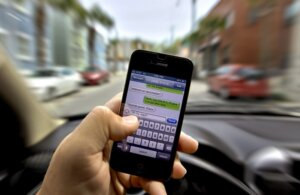 Cell Phone While Driving Causes Accident